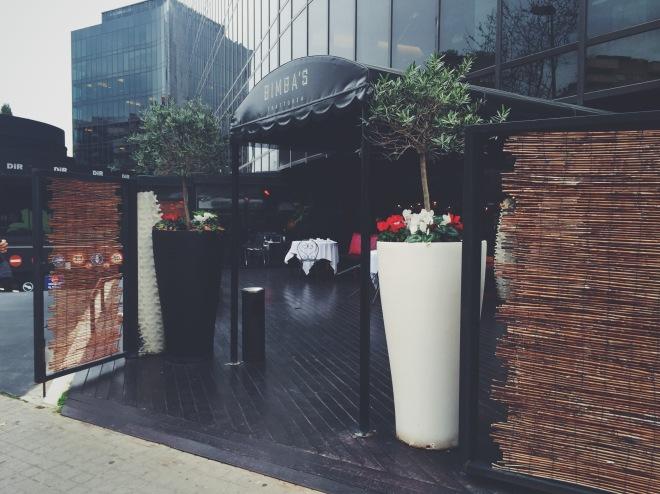 Exterior del restaurante Bimba's