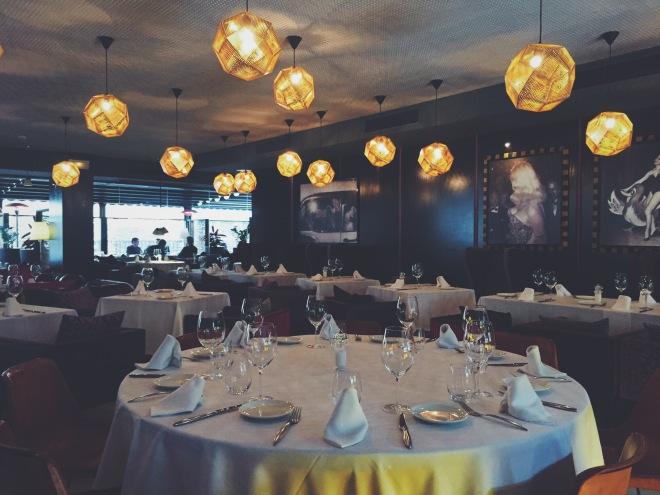 Interior del restaurante Bimba's