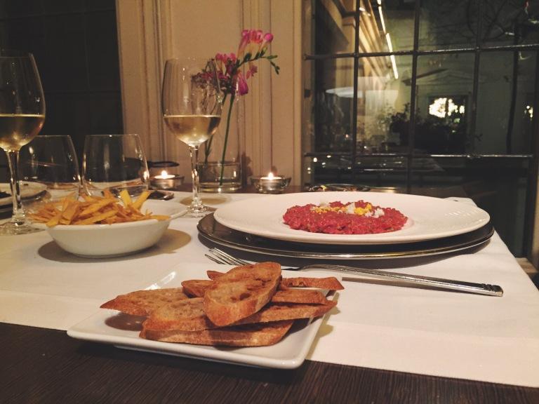 Cena del restaurante El Principal de l'Eixample