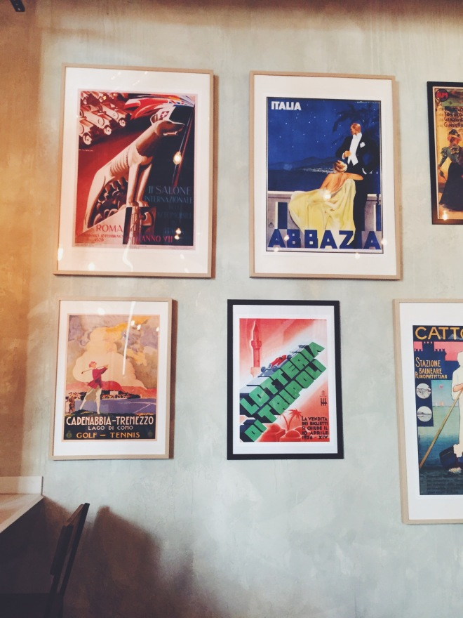 Interior del restaurante Davita