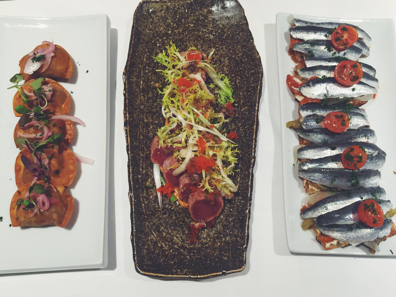 Tostas de sardinas marinadas con escabeche de El Racó d'en Cesc