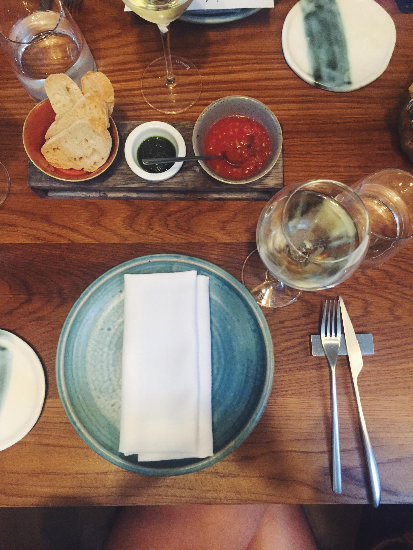 Mesa del restaurante Informal