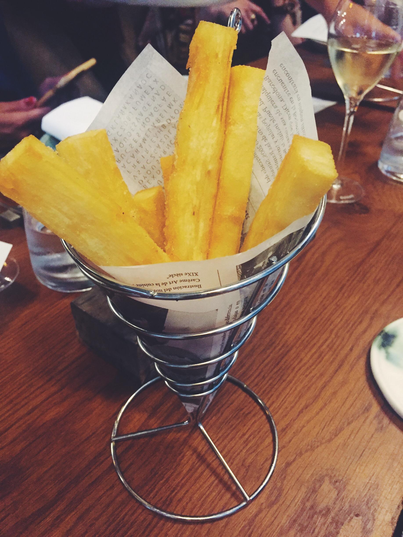 Patatas bravas del restaurante Informal