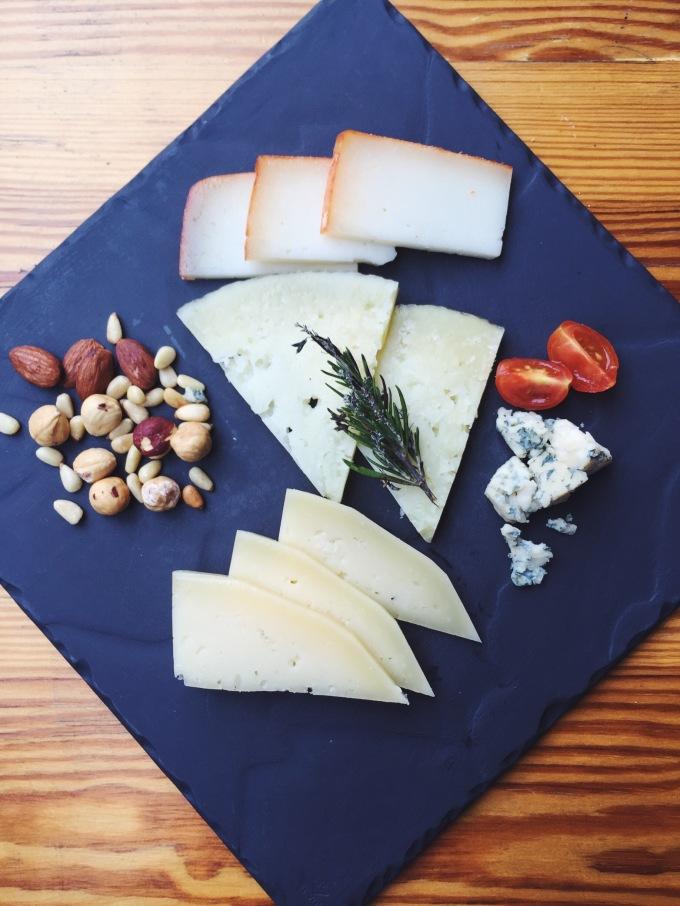 Surtido de quesos de Merkado